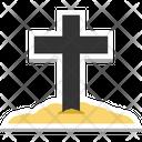 Graveyard Cross Cross Tomb Cross Icon