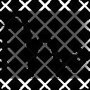 Gravitation Science Arrow Icon