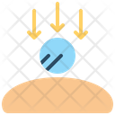 Gravity Physics Arrows Icon