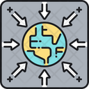 Gravity Space Attraction Icon