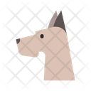 Great Dane Canine Icon