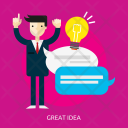 Great Idea Business Icon