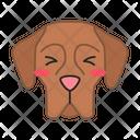 Great Dane Dog Suffering Icon