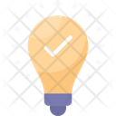 Great Idea Bulb Innovation Icon