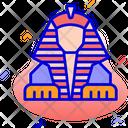 Great Sphinx Giza Egypt Icon