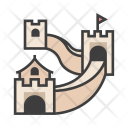 Great Wall World Icon