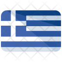 Greece Flag Country Icon