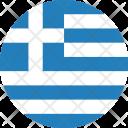 Greece Flag World Icon