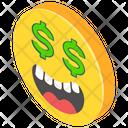 Greedy Emoji Icon