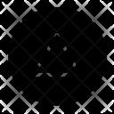 Round Letter Alphabet Icon