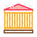 Greek Columns Building Icon