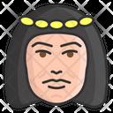 Greek Female Feminine Young Lady Icon