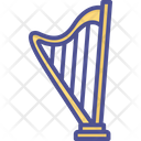 Greek Instrument Harp Heather Harp Icon