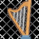Greek Instrument Harp Heather Harp Icon