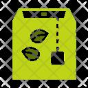 Green Tea Bag Icon