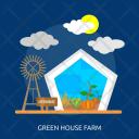Green House Farm Icon