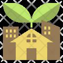 Green Community Technology Icon