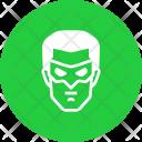 Green Lantern Superhero Icon
