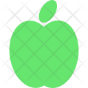 Green Apple Fruit Icon