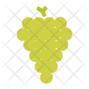Green Grapes Fruit Icon