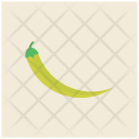 Green Pepper Pepperoncini Icon