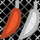 Green Chili Pepper Icon