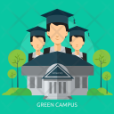 Green Campus Education Icon