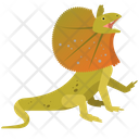 Green Basilisk Lizard Wildlife Icon