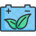 Battery Ecology Energy Icon