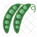 Beans Greenbeans Healthy Icon