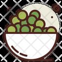 Green Beans Organic Healthy Icon