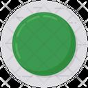 Green Circle Green Ball Round Circle Icon