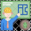 Green Contruction Icon