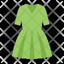 Green dress Icon