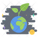 Planet Earth Sprout Icon