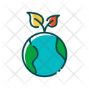 Green Earth Global Ecology Green Icon