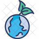 Earth Green World Icon