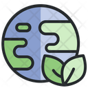 Green Earth Nature Ecology Icon