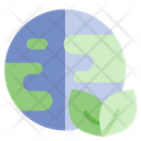 Green Earth Ecology Recycle Icon