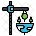 Crane Concept Plant Icon