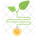 Sprout Bulb Energy Icon