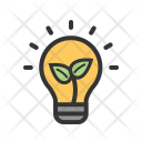 Electricity Green Eco Icon