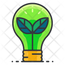 Green Electricity Light Icon