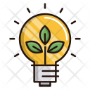 Green Think Environment Icon
