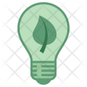 Green Electricity Greentech Icon