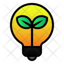Lamp Green Energy Icon