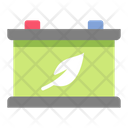Battery Green Energy Battery Eco Icon