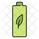 Green Energy Battery Energy Icon