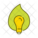 Green Energy Ecological Bulb Lightbulb Icon