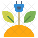 Ecology Electricity Green Icon Icon